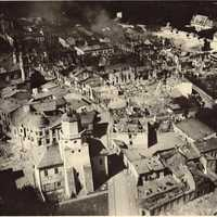 City of Wieluń, after bombing by the Luftwaffe during World War II