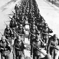 Polish Infantry during the Invasion of Poland in World War II