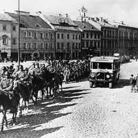 Red Army enters the provincial capital of Wilno during Invasion of Poland, World War II