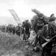 Royal Marine Commandos Move in from Sword Beach, D-Day, World War II