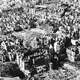 Ruins of Warsaw in 1945 in World War II