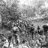 US Marines during the Guadalcanal Campaign in World War II