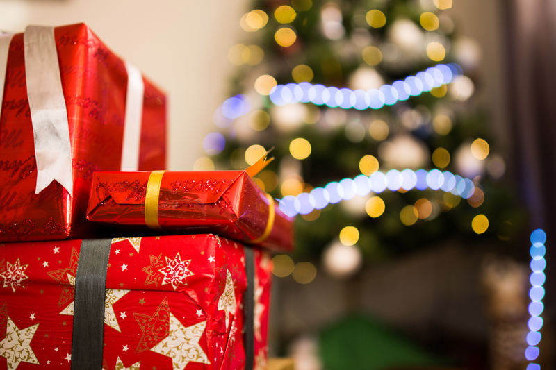 Christmas Holiday Presents Image Free Stock Photo Public Domain
