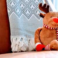 Stuffed Rudolph the Red Nosed Reindeer Christmas