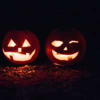 Halloween Jack-O-Lantern Faces