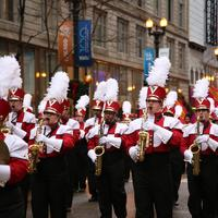 Thanksgiving March parade in Chicago, Illinois