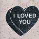 I Love you Message in a Heart