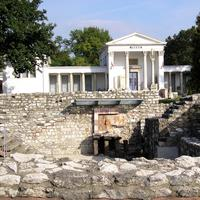 Archaeological park of the Aquincum Museum in Budapest, Hungary