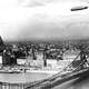 Zeppelin above Budapest in 1931 in Hungary