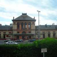 The Railway Station in Kaposvar, Hungary