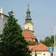 Catholic Church building in Szolnok, Hungary