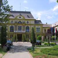 County Hall in Nyíregyháza, Hungary