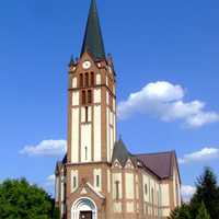 Sacred Heart church in Baja, Hungary
