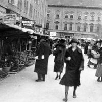 Shoppers in Szeged in Hungary