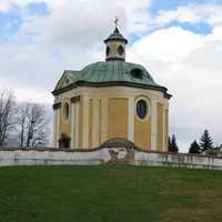 The baroque Inkey chapel in Nagykanizsa, Hungary