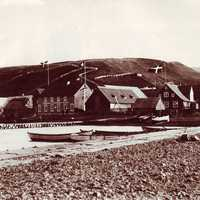 Akureyri in the late 19th century in Iceland