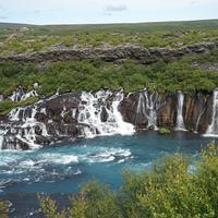 Waterfalls and Landscape in Iceland