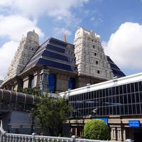 A temple in India in Bangalore
