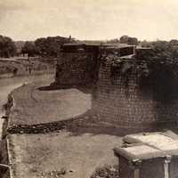Bangalore Fort in 1860 in India