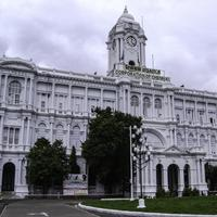 Ripon Building in 1913 in Chennai, India