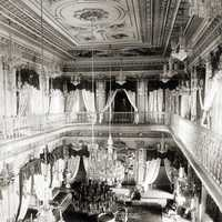 Drawing Room of Chowmahela Palace in Hyderabad, India