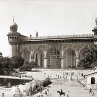 Mecca Masjid in Hyderabad, India
