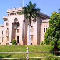 Osmania University College of Arts in Hyderabad, India