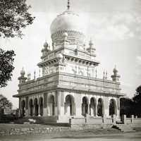 Saidani maa tomb in Hyderabad, India