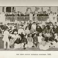 First session of the Indian National Congress in Bombay, India