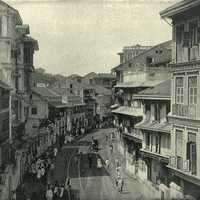 Kalbadevie Road around 1890 in Mumbai, India