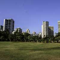 Priyadarshini Park at Nepean Sea Road in Mumbai, India