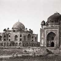 Tomb of Humayun in Delhi, India