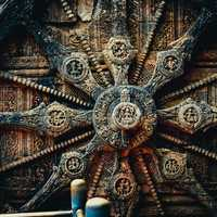 Konark Sun Temple Door in India