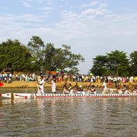 Rowing competition in India