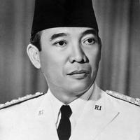Sukarno, the founder and first president of Indonesia