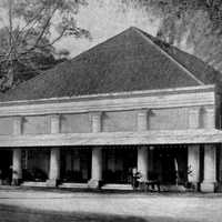 The Old SImpang Club in Surabaya, Indonesia