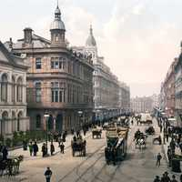 Royal Avenue of Belfast Circa 1900