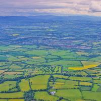 Farms and Fields Near Dublin, Ireland landscapes