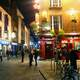 Temple Bar at Night in Dublin, Ireland