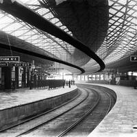 Glanmire Road Station in the 1890s in Cork, Ireland