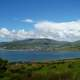 Great landscape with clouds at Dingle Bay