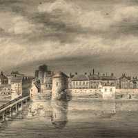 Limerick, painted in 1830 in Ireland