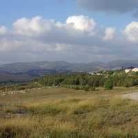 Hills and landscape near Palestine and Jerusalem