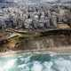 Aerial photos of Mediterranean coast