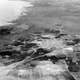 Aerial view of Isdud pre 1935 in Ashdod, Israel