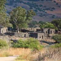 Ancient Ruins at Golan Heights, Israel