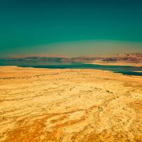Deserts, sand, and lake in Israel
