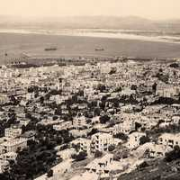 Haifa in 1930 Cityscape in Israel