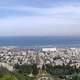 Panorama of Haifa from Mount Carmel in Israel