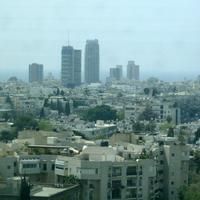 Skyline and Cityscape of Tel Aviv, Israel